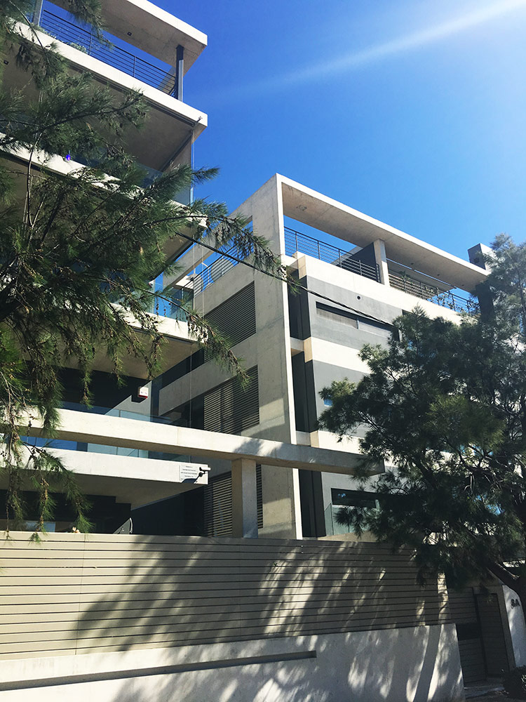 Maisonettes Project with sea view in Elliniko Area, Athens